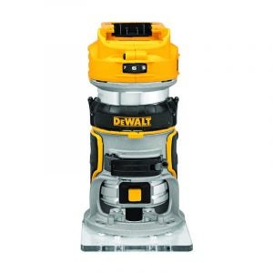 The Best Wood Router Option: DEWALT 20V Max XR Cordless Router, (DCW600B)