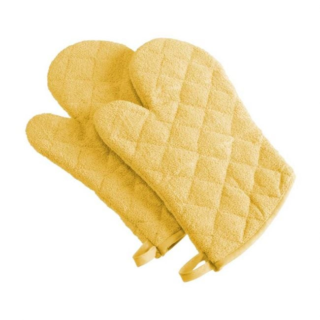 The Best Oven Mitt Option: DII 100% Cotton Quilted Terry Oven Set
