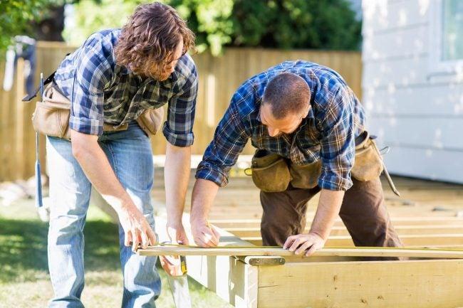 Deck vs. Patio: Decks Can Be Built on Uneven Terrain
