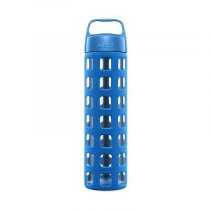 The Best Reusable Water Bottle Option: Ello Pure Glass Water Bottle with Silicone Sleeve