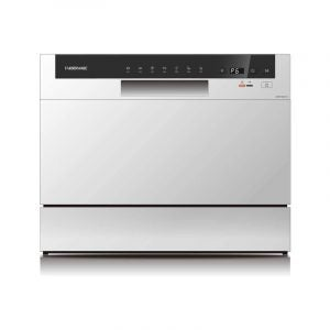 The Best Dishwasher option: Farberware FCD06ABBWHA Portable Countertop Dishwasher