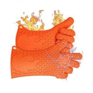 最佳烧烤手套选择:Jolly Green Products Ekogrips Premium BBQ Oven Gloves
