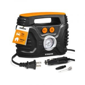 The Best Tire Inflator Option: Kensun AC/DC 100 PSI Portable Air Compressor