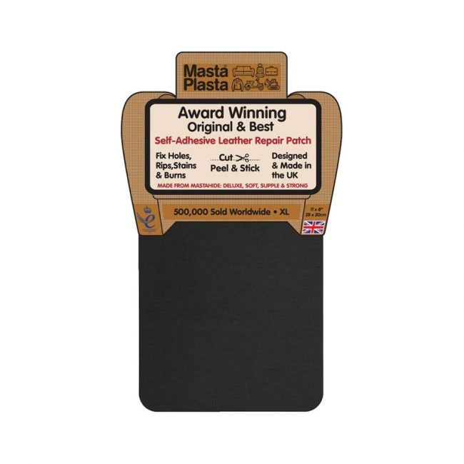 The Best Leather Repair Kit Option: MastaPlasta Self-Adhesive Patch For Leather Repair