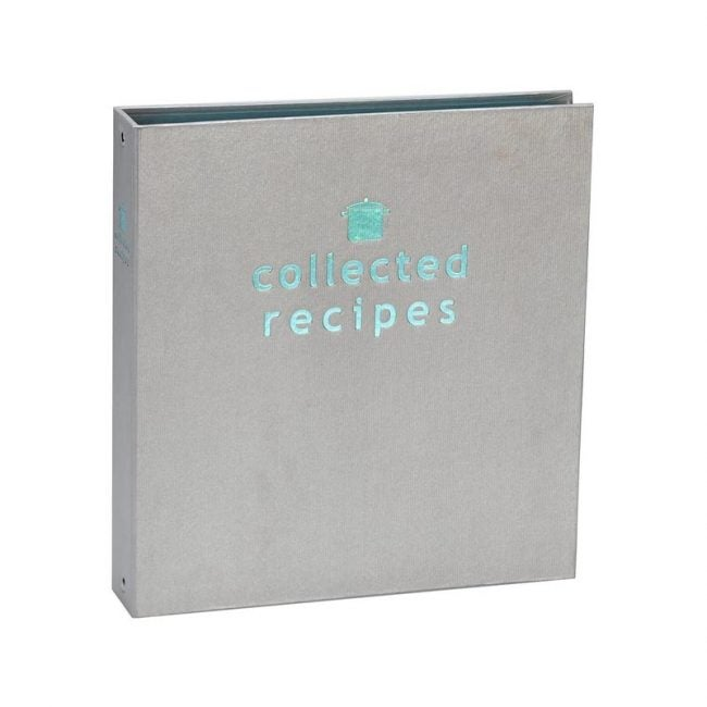 The Best Recipe Organizer Option: Meadowsweet Kitchens Collected Recipes Cookbook