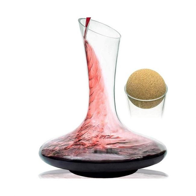The Best Wine Decanter Option: Mixologist World Wine Carafe Decanter Aerator