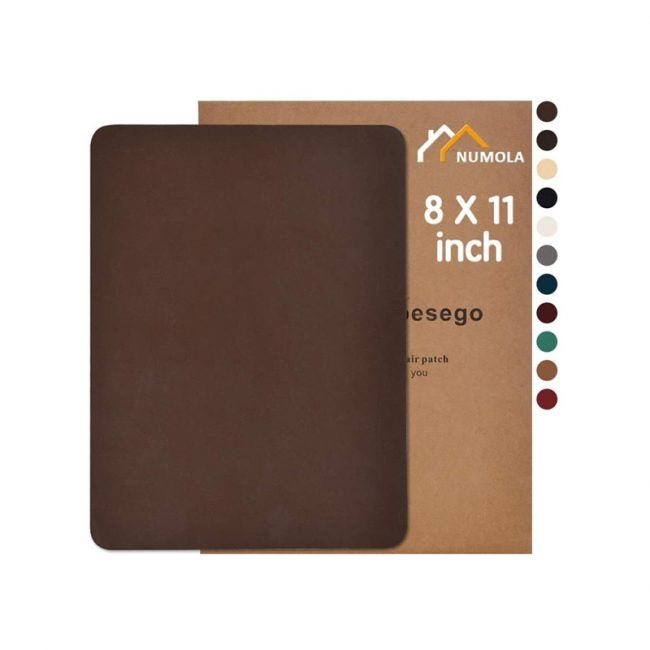 The Best Leather Repair Kit Option: Numola Leather Repair Patch Kit