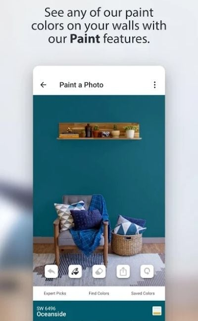 The Paint Color App Option: ColorSnap Visualizer by Sherwin-Williams