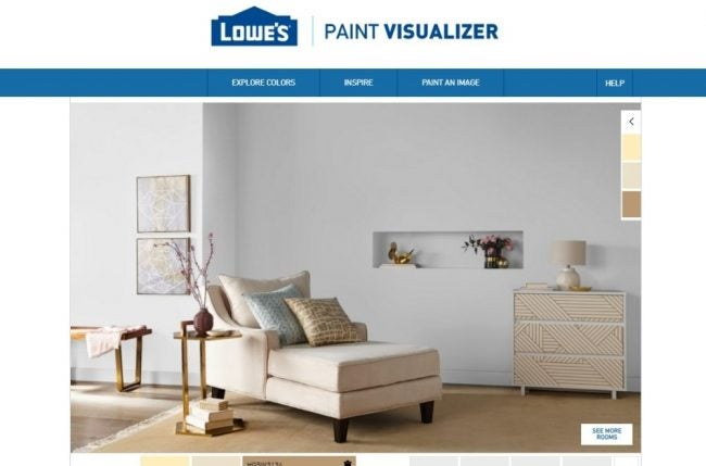 The Paint Color App Option: Lowe's Paint Visualizer