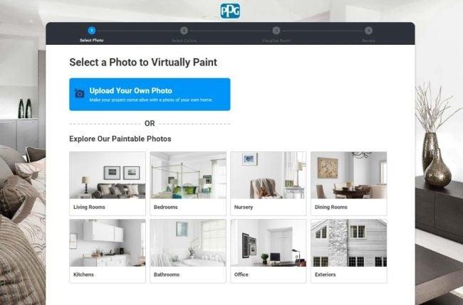 The Paint Color App Option: PPG's Paint Color Visualizer