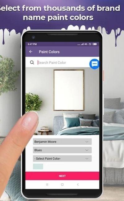 The Paint Color App Option: Paint My Place