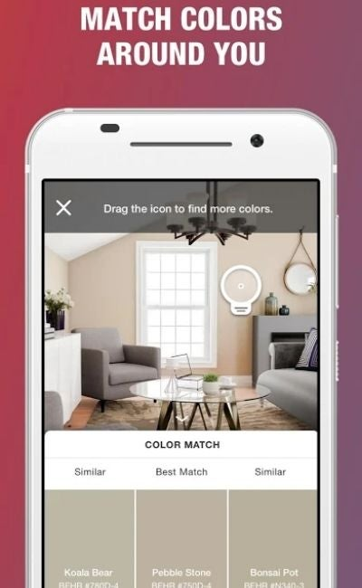 The Paint Color App Option: Project Color from The Home Depot