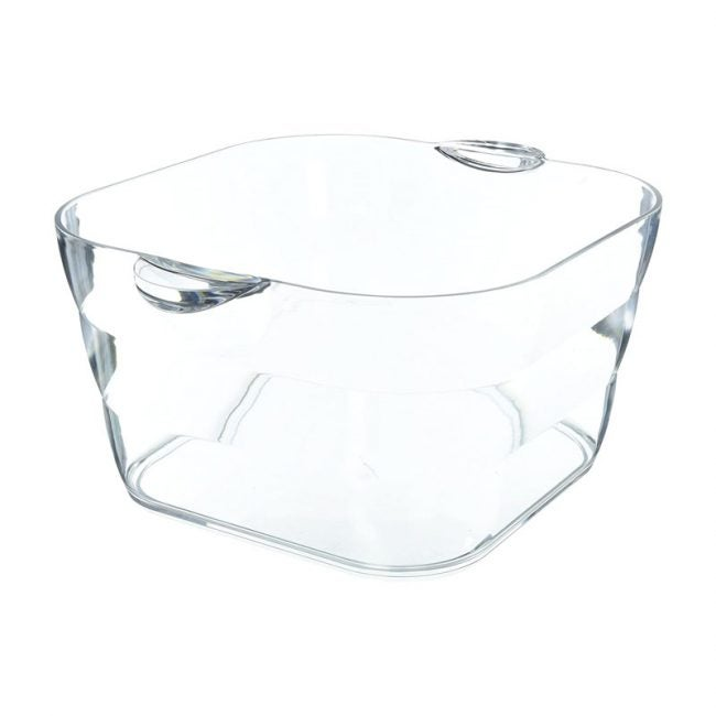 The Best Beverage Tub Option: Prodyne Big Square Party Beverage Tub