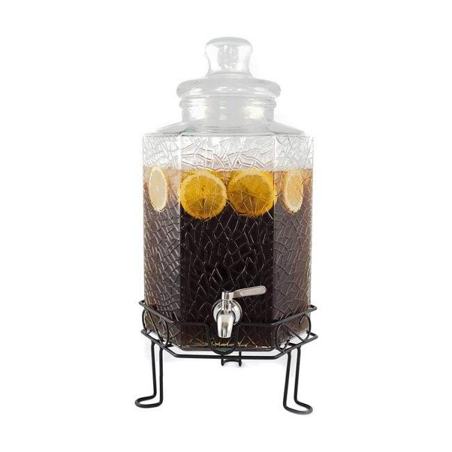 The Best Beverage Dispenser Option: Redfern 2.5 Gallon Glass Beverage Dispenser