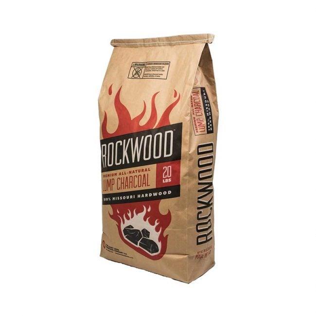最佳木炭选择:罗克伍德纯天然硬木块木炭