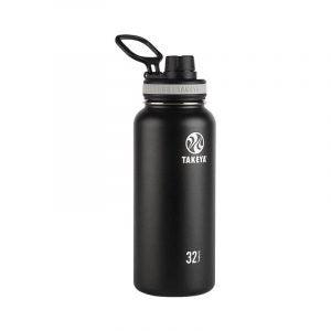 The Best Reusable Water Bottle Option: Takeya Black Originals Vacuum-Insulated Water Bottle