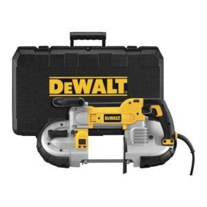 The Best Band Saw Option: DEWALT Portable Band Saw, 10 Amp, 5-Inch (DWM120K)