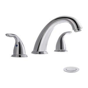 The Best Bathroom Faucet Option: phiestina Widespread Bathroom Sink Faucet
