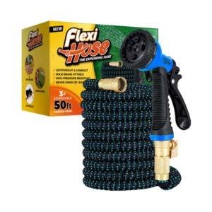 The Best Expandable Hose Option: Flexi Hose with 8 Function Nozzle