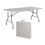 The Best Folding Table Option: COLIBYOU 6' Folding Table