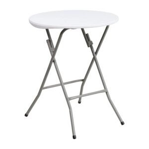 The Best Folding Table Option: Flash Furniture 24RND Plastic Fold Table
