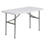 The Best Folding Table Option: Flash Furniture 24x48 Plastic Fold Table