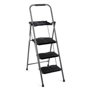 The Best Ladder Option: Best Choice Products 3-Step Ladder, Portable Folding