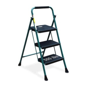 The Best Ladder Option: HBTower 3 Step Ladder with Wide Anti-Slip Pedal