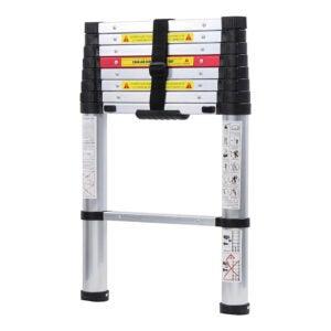 The Best Ladder Option: WolfWise Aluminum Telescopic Extension Ladder