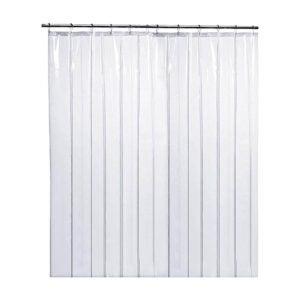The Best Shower Curtain Liner Option: LiBa PEVA 8G Bathroom Shower Curtain Liner