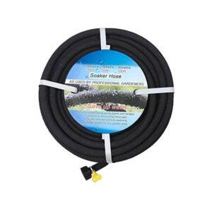 最好的敬业软管选择:购买100英尺的花园花床100英尺的浸泡软管