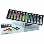 The Best Acrylic Paint Option: Liquitex BASICS Acrylic Paint Tube 12-Piece Set