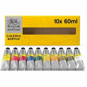 The Best Acrylic Paint Option: Winsor & Newton Galeria Acrylic Paint