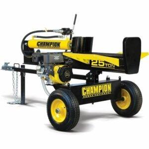 The Best Log Splitter Option: Champion Power Equipment 25-Ton Vertical Log
