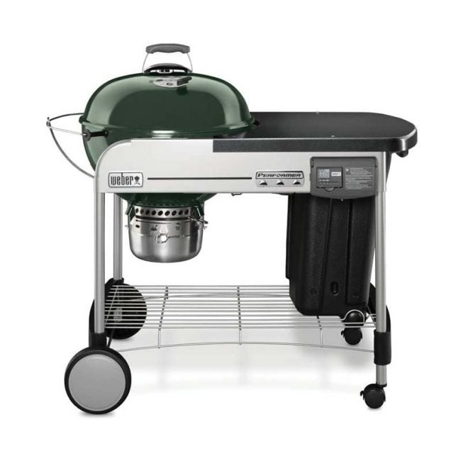 The Best Charcoal Grill Option: Weber 15501001 Performer Deluxe Charcoal Grill