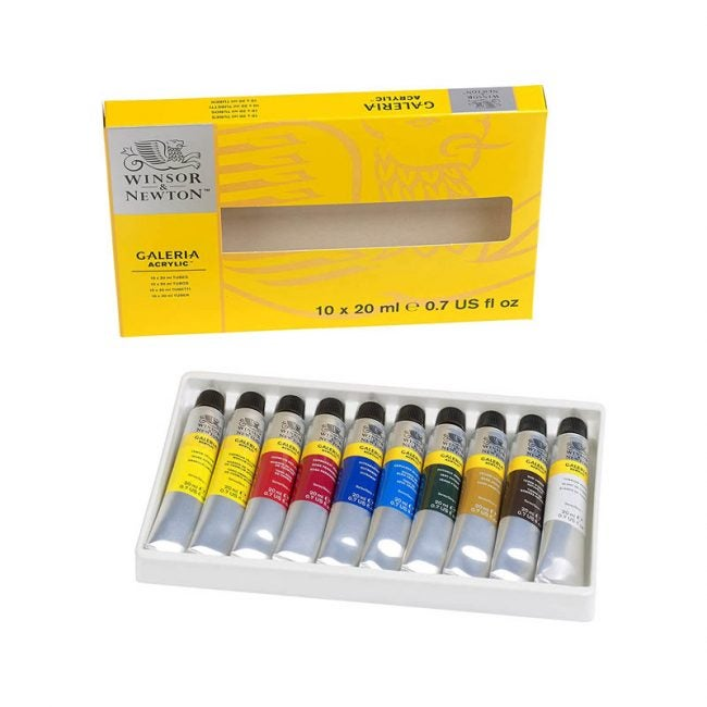 The Best Acrylic Paint Option: Winsor & Newton Acrylic Paint