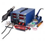 The Best Soldering Station Option: YIHUA 853D 2A Hot Air Rework Station