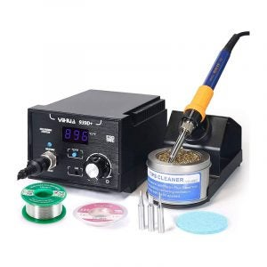 The Best Soldering Station Option: Yihua 939D+ 75 Watt Equivalent Digital Soldering Station
