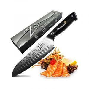 The Best Santoku Knife Option: Zelite Infinity Santoku Knife Alpha-Royal Series