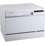The Best Countertop DIishwasher Option: EdgeStar DWP62BL Portable Countertop Dishwasher