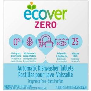 The Best Dishwasher Detergent Option: Ecover Automatic Dishwashing Tablets Zero