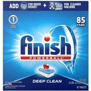 The Best Dishwasher Detergent Option: Finish All-in-One 85ct Dishwasher Detergent