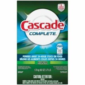The Best Dishwasher Detergent Option: Procter & Gamble 95788 Cascade Dishwashing Detergent
