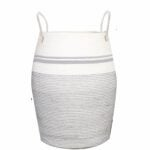 The Best Laundry Hamper Options: OIAHOMY Laundry Hamper Woven Cotton Rope Large Hamper