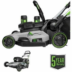 最好的自推进草坪割草机选项:EGO电源+ 21英寸56伏锂离子割草机