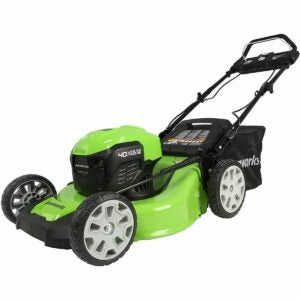 The Best Self Propelled Lawn Mowers Option: Greenworks 40V Brushless Self-Propelled Lawn Mower