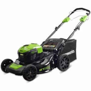 The Best Self Propelled Lawn Mowers Option: Greenworks 40V Self-Propelled Cordless Lawn Mower