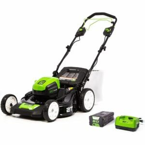 The Best Self Propelled Lawn Mowers Option: Greenworks Pro 80V 21-Inch Self-Propelled Lawn Mower
