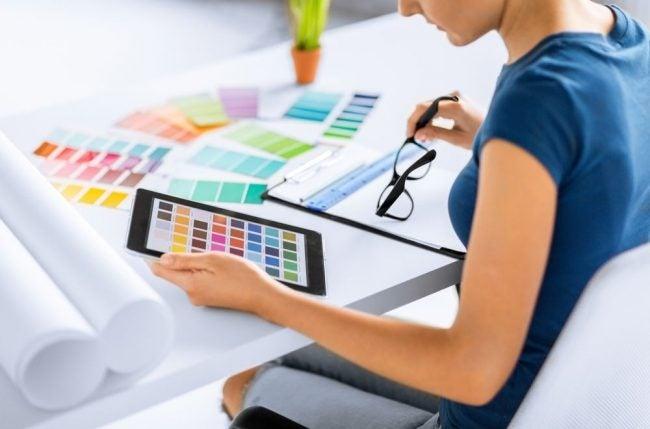 The Paint Color App Option