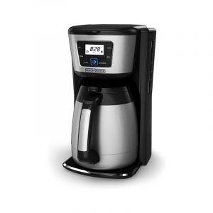 最佳热咖啡机选择:黑+德克尔12杯热咖啡机
